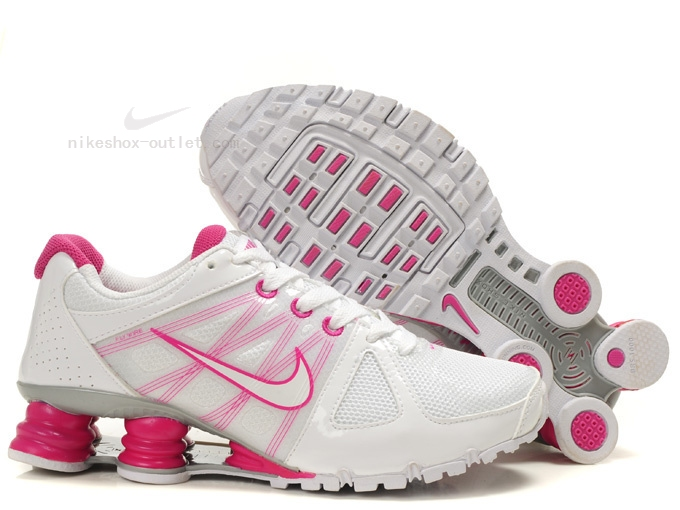 Nike Shox Turbo womens white pink
