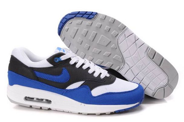Nike Air Max 1 Men White/Signal Blue AnthraciteM1H005