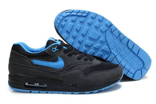 Nike Air Max 1 Men's Anthracite/Black University BleuM1H047