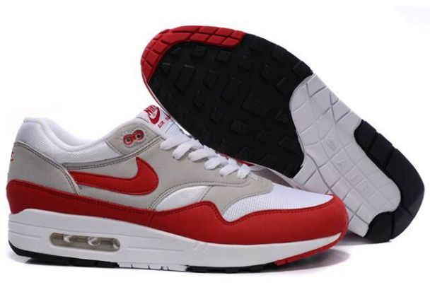 Nike Air Max 1 OG Male White/Red Store M1H042