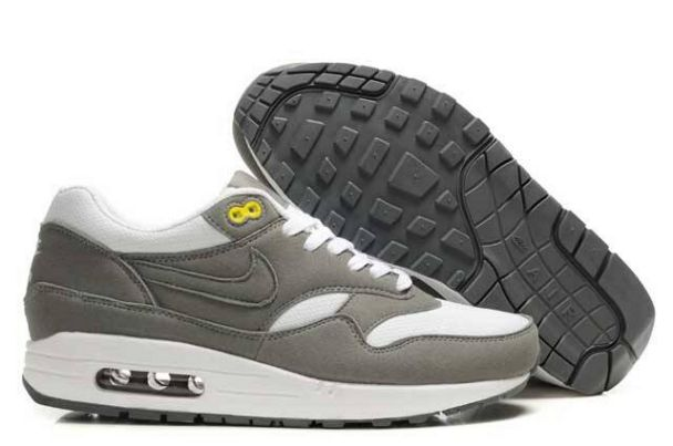 Nike Air Max 1 Men Grey/White M1H008