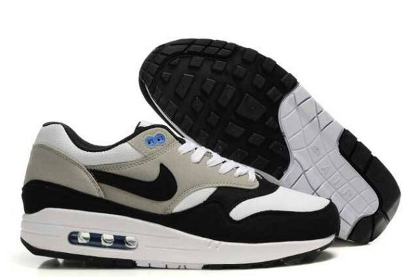 Nike Air Max 1 Men Grey/White Black Shop M1H014
