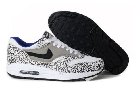 Nike Air Max 1 New Man Grey/White/Black M1H050
