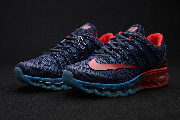 Nike Air Max 2016 2 Deep Blue Red Shoes
