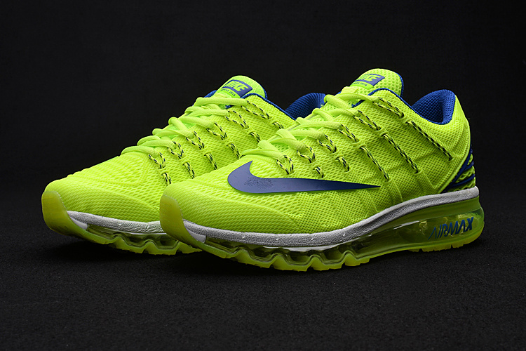 Nike Air Max 2016 2 Fluorscent Green Blue Black Shoes