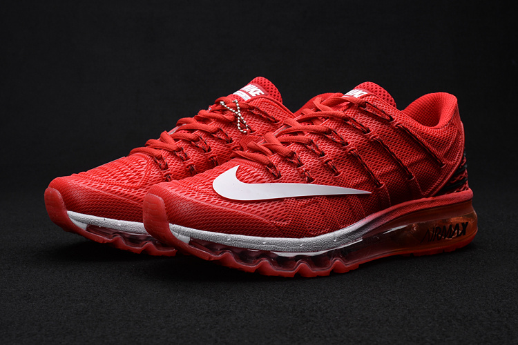 Nike Air Max 2016 2 Hot Red White Shoes