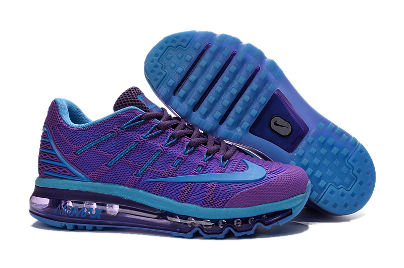 Nike Air Max 2016 Purple Blue Black Shoes For Women