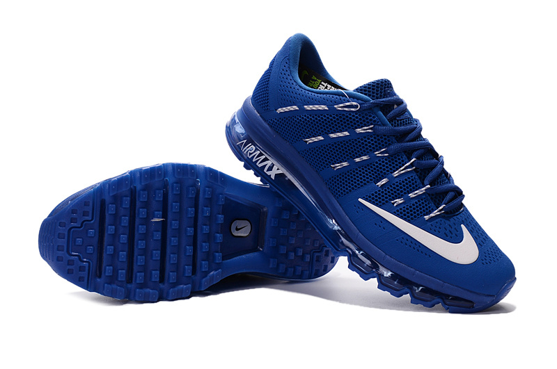 Nike Air Max 2016 Sea Blue White Shoes For Women
