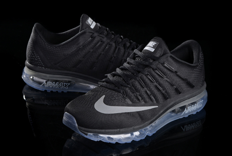 Nike Air Max 2017 Black Blue Sole Shoes For Women