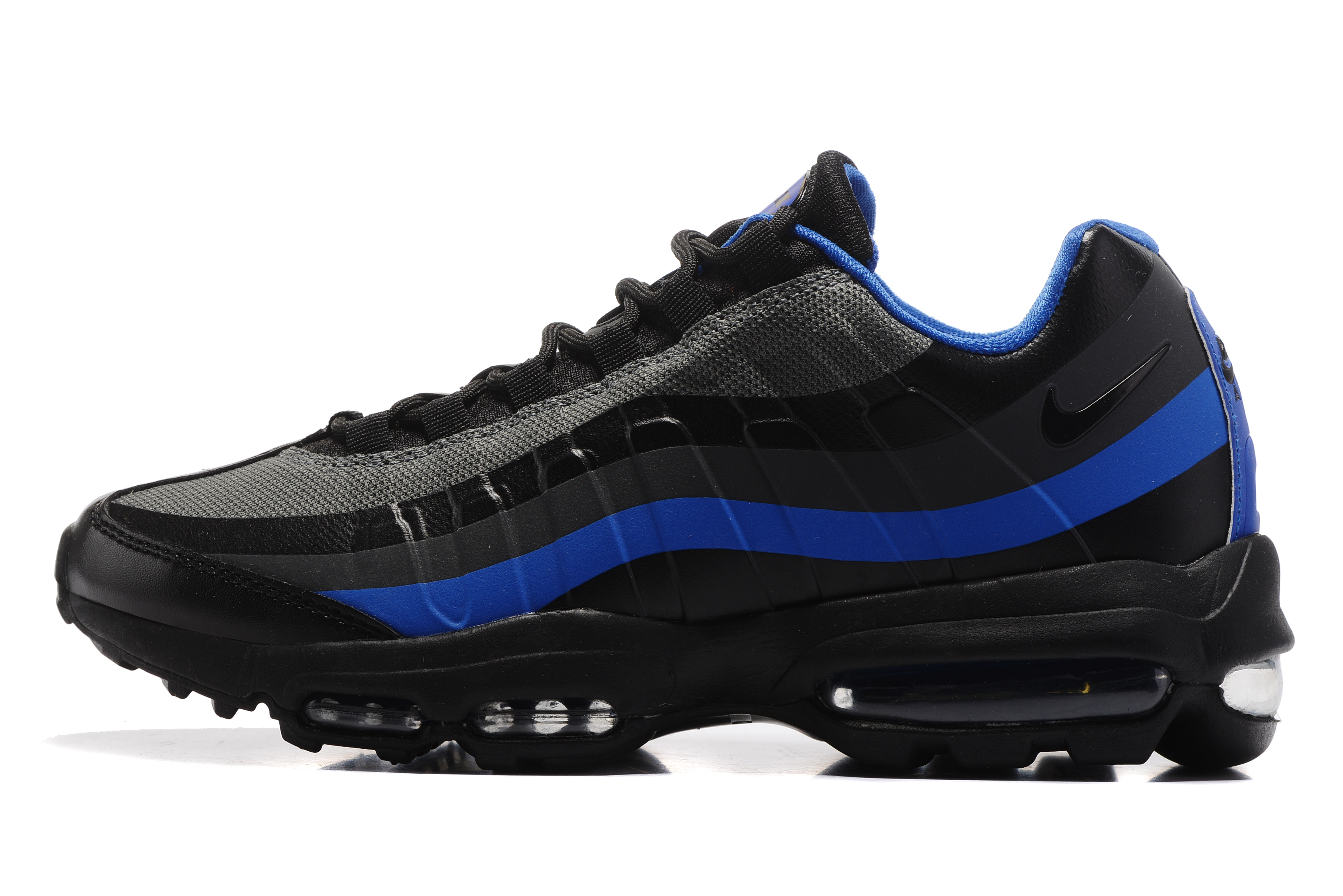 2017 Nike Air Max 95 Black Blue