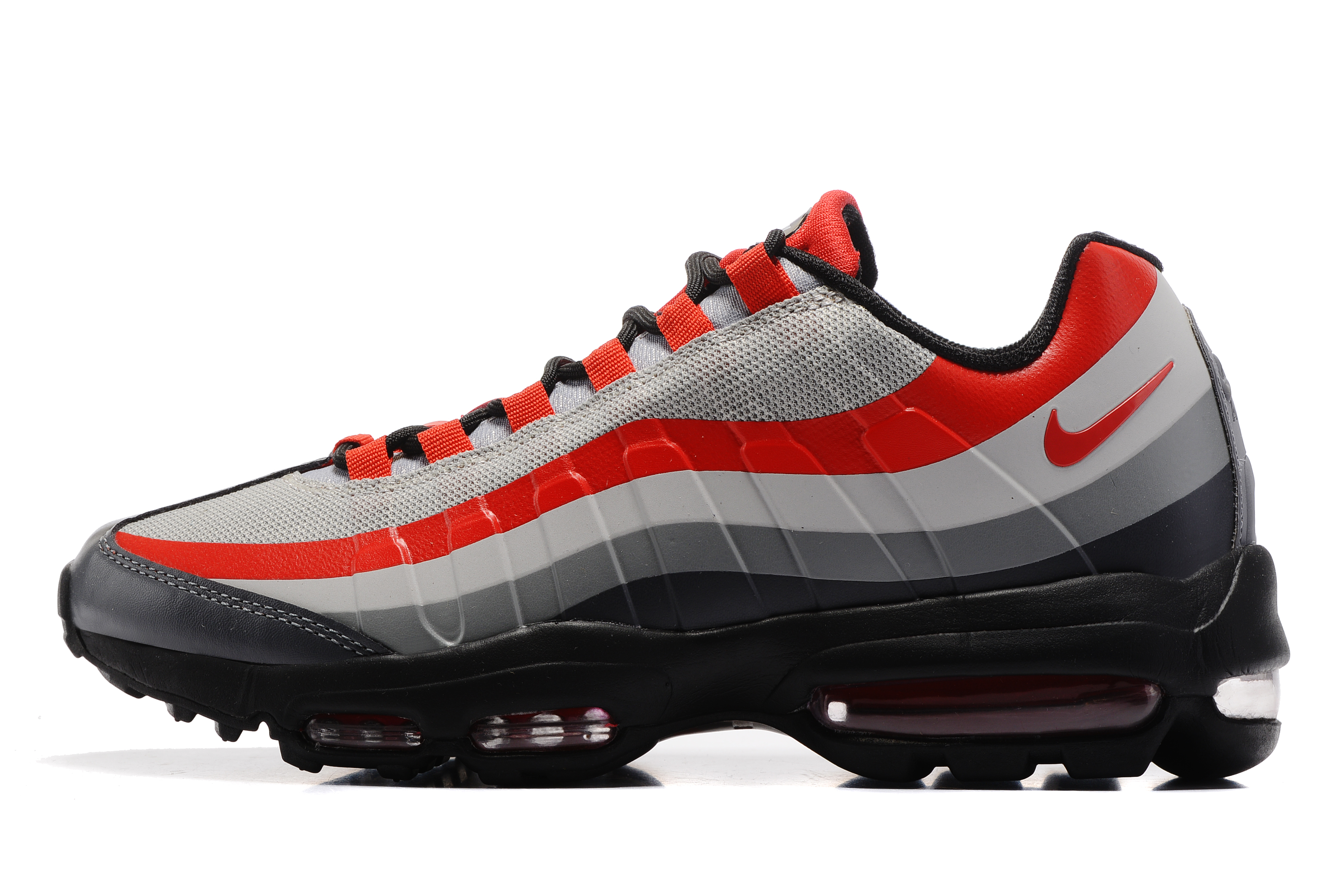 2017 Nike Air Max 95 Grey Red Black