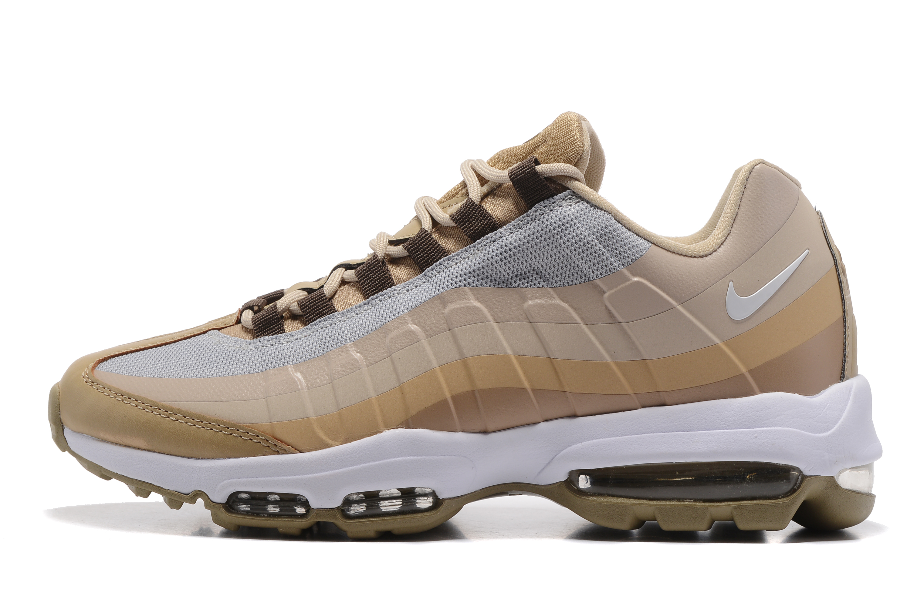 2017 Nike Air Max 95 Yellow Brown
