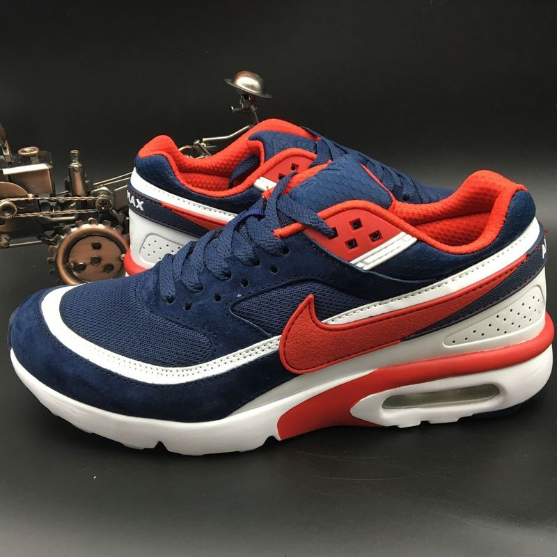 Nike Air Max BW 25TH Premium Blue Red White Shoes