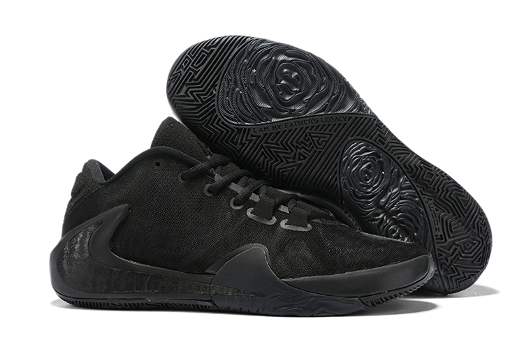 Nike Freak 1 All Black Shoes For Sale