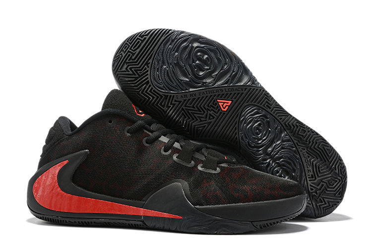 Nike Freak 1 Black Red Shoes For Sale