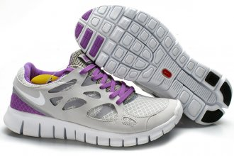 Nike Free Run 2 + Female R + Lime purple 2386