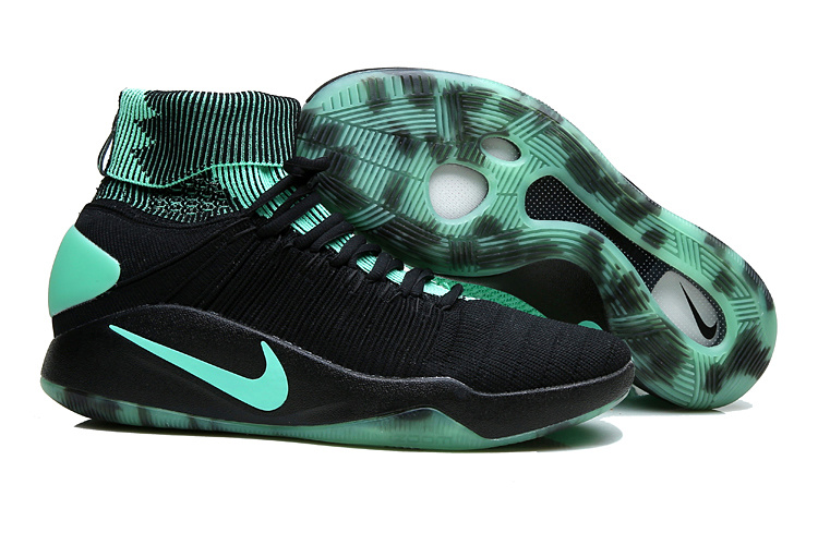 Nike Hyperdunk 2016 High Black Green Shoes