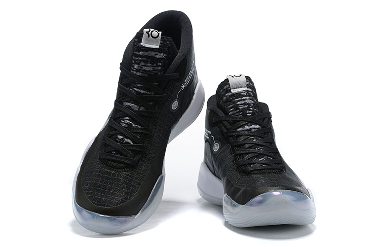 Nike KD 12 Black White Shoes For Sale