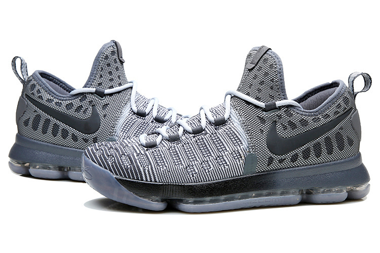 Nike KD 9 Grey Black Shoes