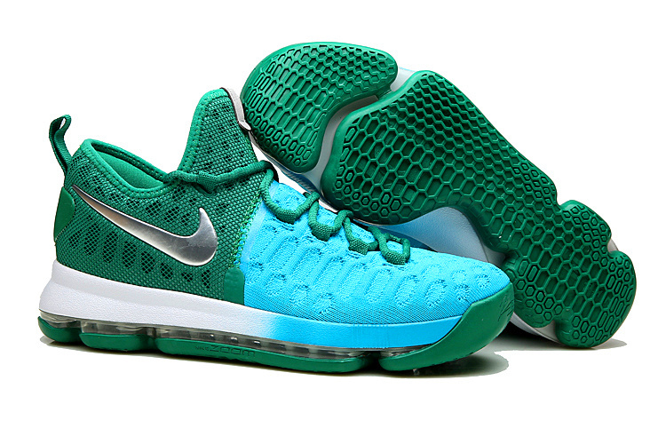 Nike KD 9 Peacock Green Shoes