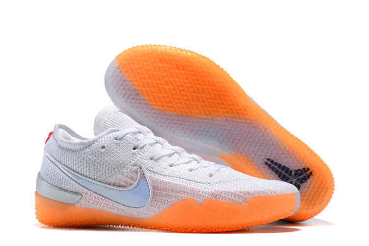 Nike Kobe 360 Degree White Orange Shoes