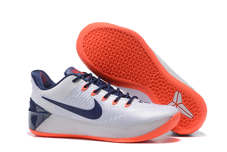 Nike Kobe A.D EP White Blue Orange Shoes