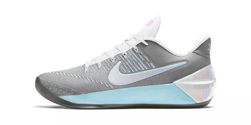 Nike Kobe A.D Grey White Light Blue Shoes