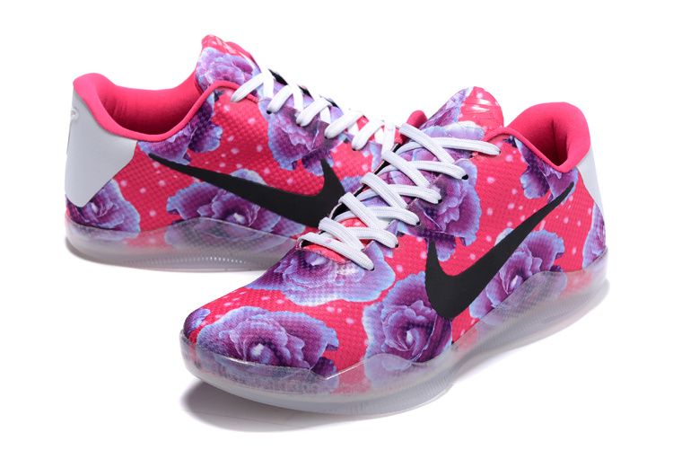Nike Kobe Bryant 11 Breast Cancer 3D Shoes