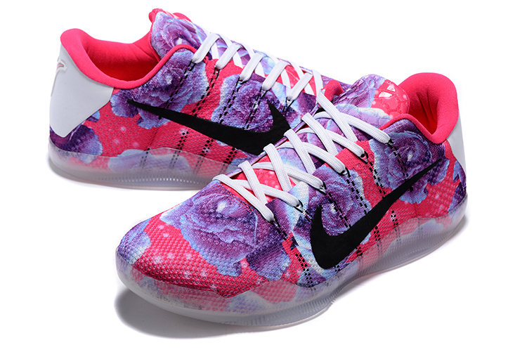 Nike Kobe Bryant 11 Knit Breast Cancer 3D Shoes