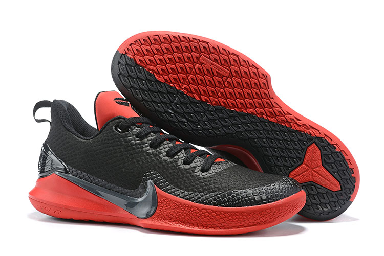 Nike Kobe Mamba Black Red Shoes For Sale