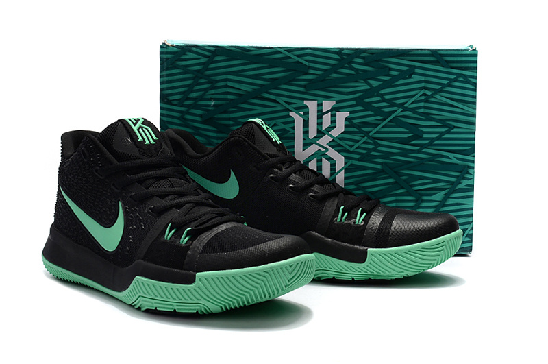 Nike Kyrie 3 Black Green Shoes For Women