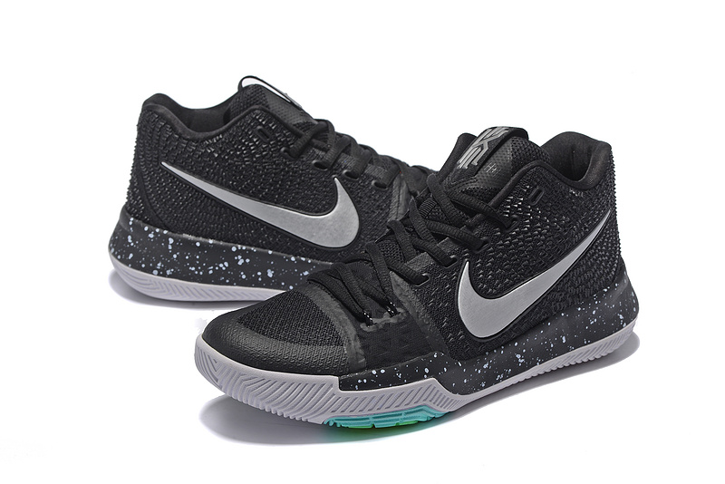 Nike Kyrie 3 Black Grey Shoes