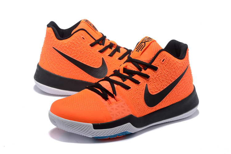 Nike Kyrie 3 Orange Black Shoes