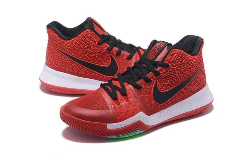 Nike Kyrie 3 Red Black White Shoes