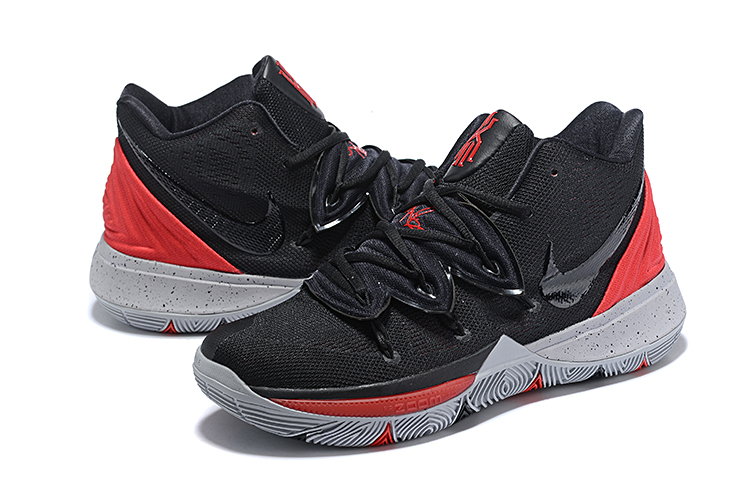 Nike Kyrie 5 Black Red Shoes