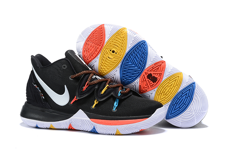 Nike Kyrie 5 Black White Red Shoes