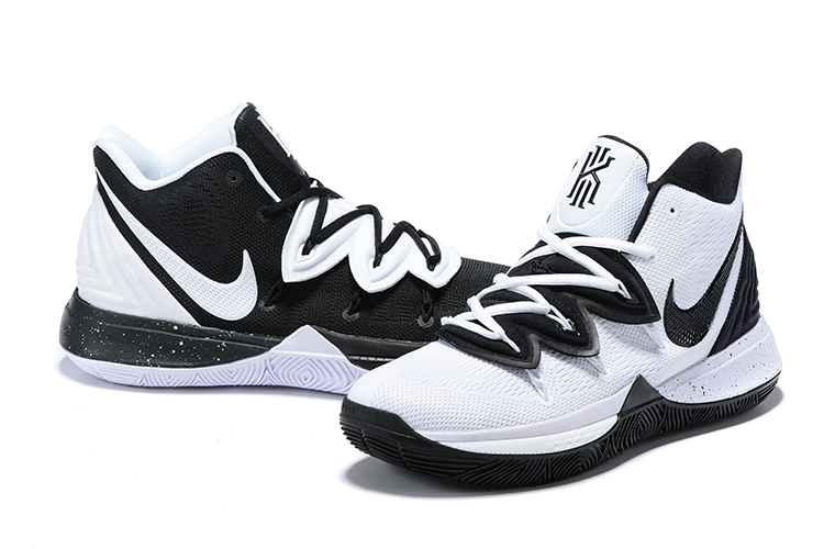 Nike Kyrie 5 Black White Ying Yang Shoes