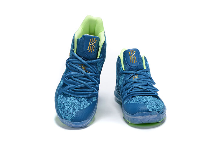 Nike Kyrie 5 Blue Green Shoes