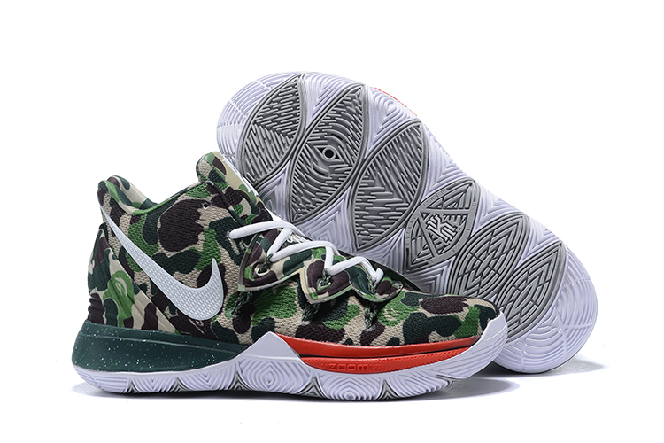 Nike Kyrie 5 Joint Name Camo Shoes