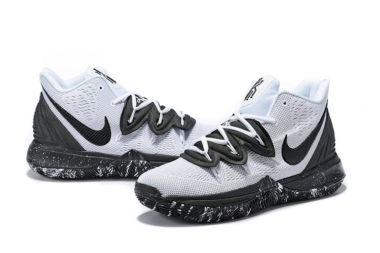 Nike Kyrie 5 Oreo Theme Shoes