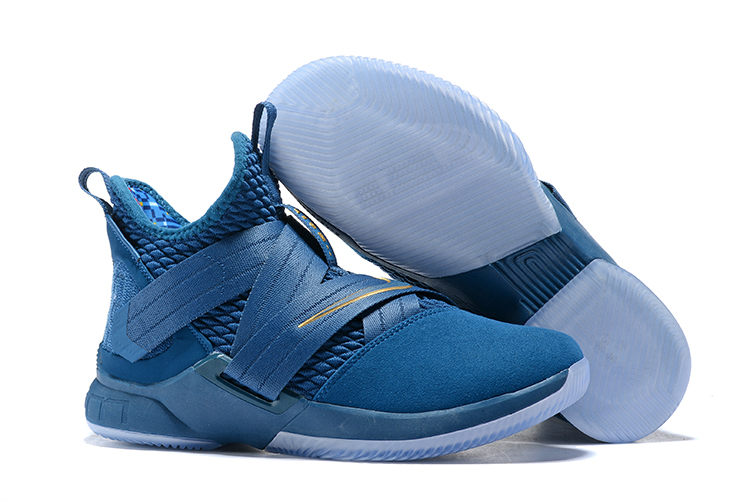 Nike Lebron Solider 12 Blue Shoes