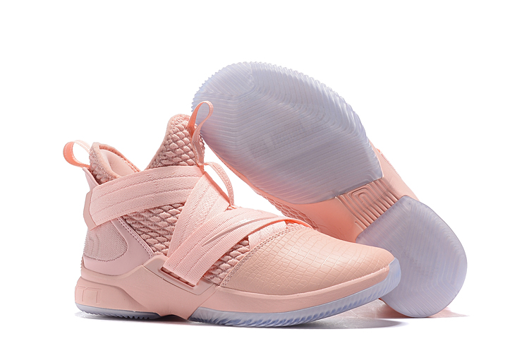 Nike Lebron Solider 12 Pink Shoes