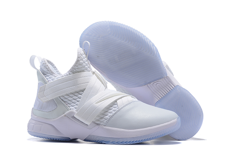 Nike Lebron Solider 12 White Shoes
