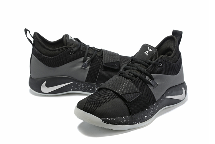 Nike PG 2 Pluse Black Sliver Shoes