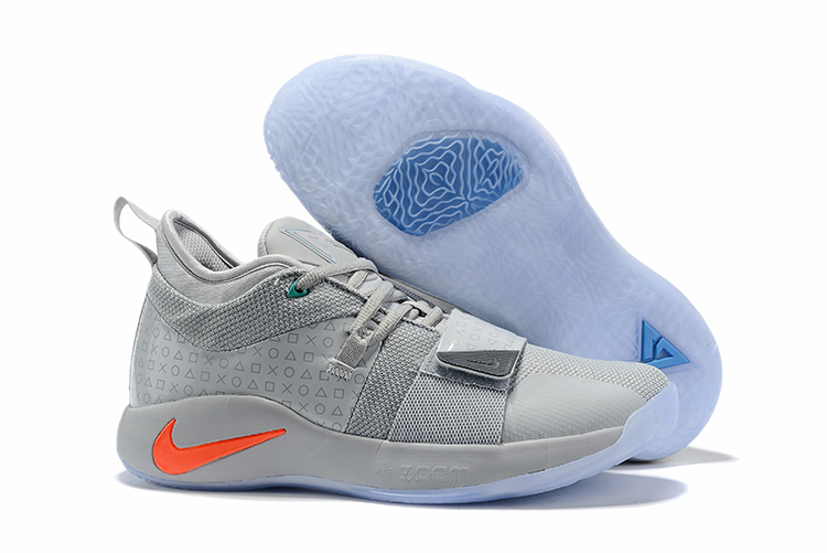 Nike PG 2 Pluse Joint Name Grey Shoes