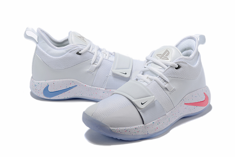 Nike PG 2 Pluse Joint Name White Colors Shoes