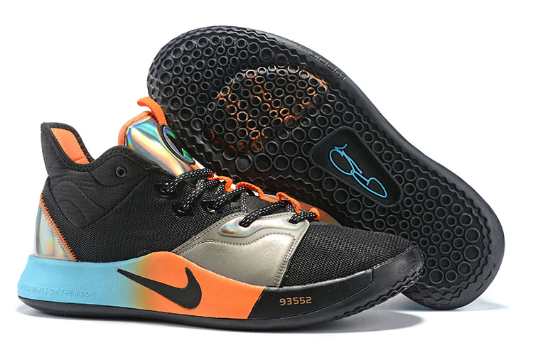 Nike PG 3 Cool Black Basketball Shoes