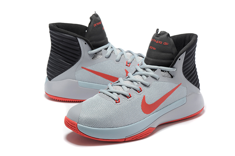 Nike Prime HYPE OF 2016 Grey Red Black All Star Shoes