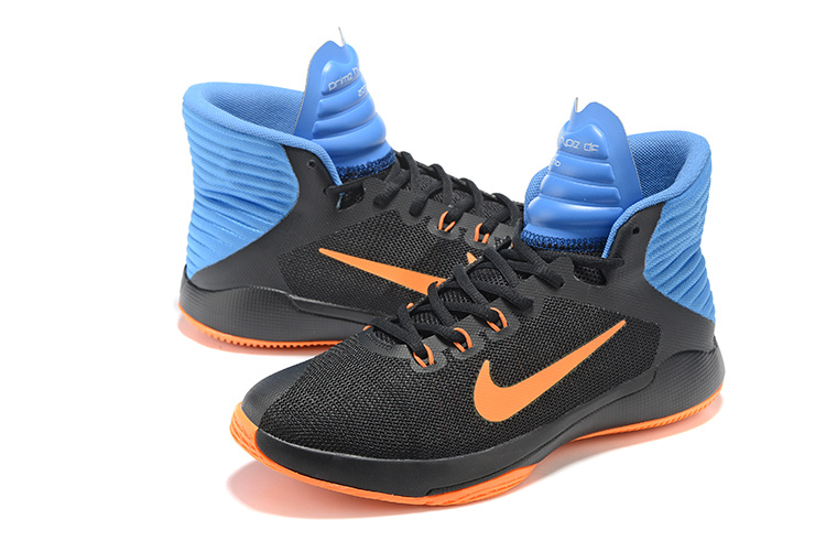 Nike Prime Hype DF 2016 Black Orange Blue All Star Shoes
