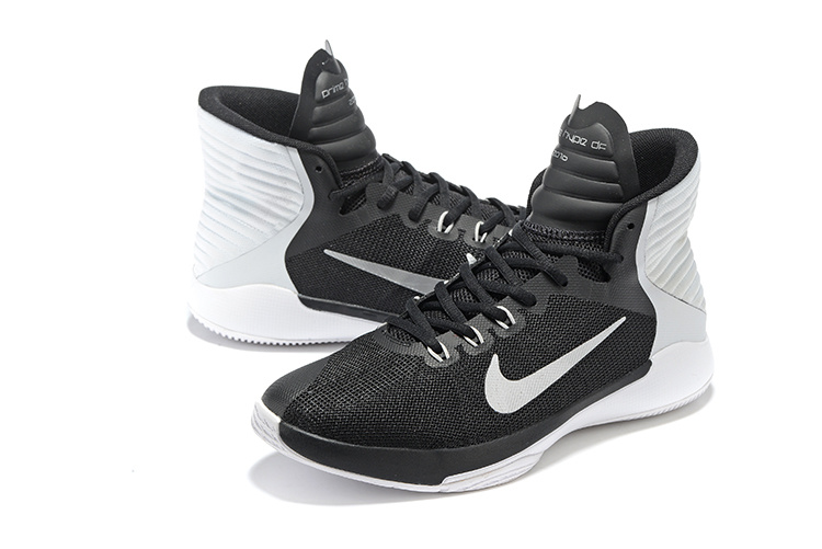 Nike Prime Hype DF 2016 Black White All Star Shoes